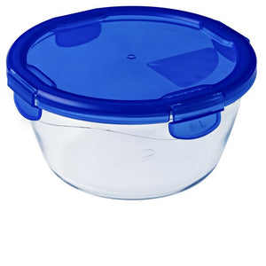Pyrex 288PG00 Cook & Go Glass Round Dish with Lid 1.6Ltr