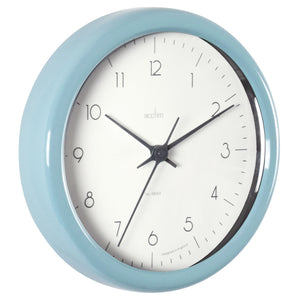 Acctim 29475 Chiltern Wall Clock 24cm - Pale Blue