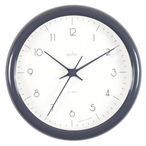 Acctim 29477 Chiltern Wall Clock 24cm - Grey