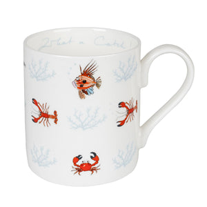 Sophie Allport BMWC02 Standard Fine Bone China Mug - What A Catch