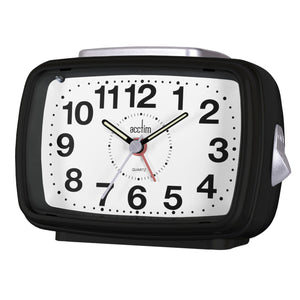 Acctim 13883 Titan II Alarm Clock - Black
