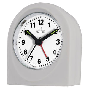 Acctim 15067 Palma Alarm Clock - Grey