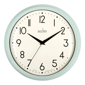 Acctim 22475 Elodie Wall Clock 25.9cm - Green