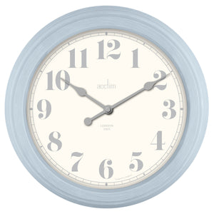 Acctim 22489 Chester Wall Clock 35.5cm - Blue