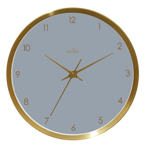 Acctim 29419 Eadie Wall Clock 25.7cm - Gold with Dusk Face