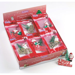 Culpitt DP518 Christmas Cake Decorations Pkt3 - Assorted