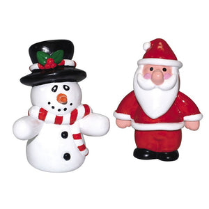 Culpitt XP246 Santa or Snowman Christmas Cake Decorations
