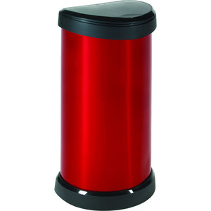 Curver 176459 - 40L Deco Touch Bin - Red