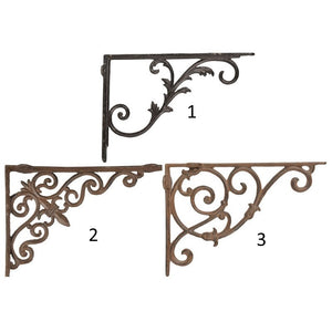 Esschert Design CB29 Cast Iron Shelf Bracket - Various Designs