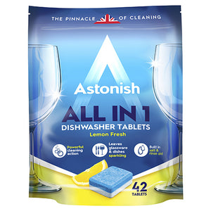 Astonish C2180 5 IN 1 Dishwasher Tablets PACK OF 42