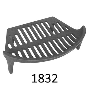 Manor Reproductions Bowed Fuel Grate - Various Sizes