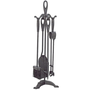 Manor Reproductions 2124 Orion Loop Companion Set - Black