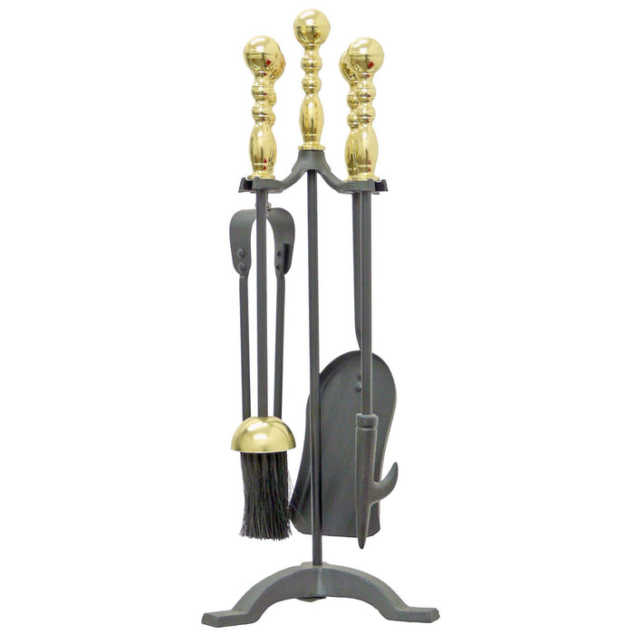 Manor Reproductions 1179 Westminster Companion Set - Black/Brass