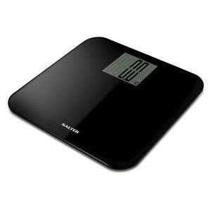Salter 9049BK3R Electronic Curved Edge Digital Bathroom Scales - Black
