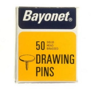 Bayonet 10404 Drawing Pins Pkt 50