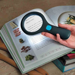 Smart Garden 3160012 Magni-Light Magnifying Glass with Light