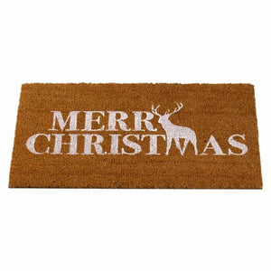 Outside In 2555001 Merry Christmas Decoir Doormat 75x45cm