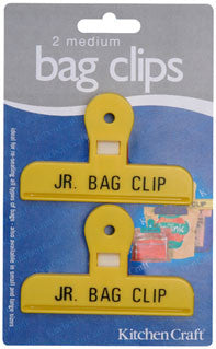 Kitchencraft KCBAGMED Bag clips x 2