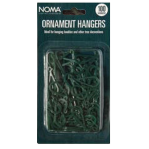 Noma 31022 Ornament Hangers Pack of 100