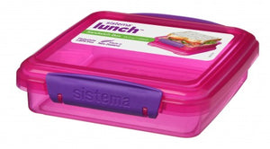 Sistema 31646 Sandwich Box 450ml - Asst Colours