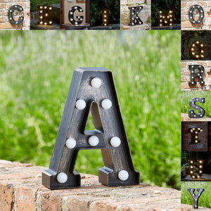 Outside In Designs Lumiéres Light Up Letters - Various
