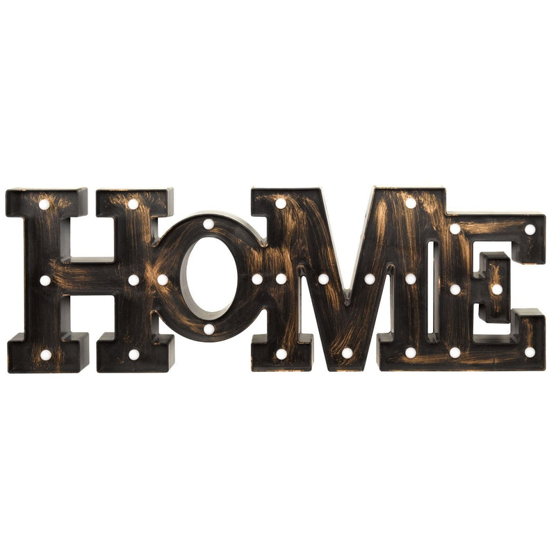 Outside In 3180337 Lumiéres Light Up Sign HOME