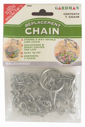 Gardman 01095 Hanging Basket Replacement Chain