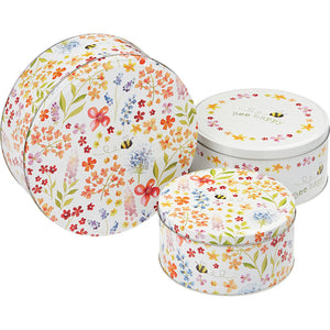 Cooksmart 9634 Cake Tins Pack of 3 - Bee Happy