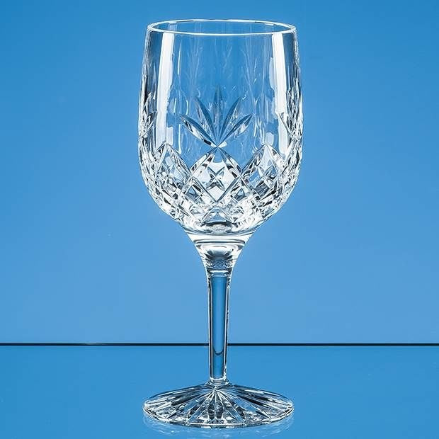 Blenheim LP605PR Lead Crystal Full Cut Goblet Gift Set of 2