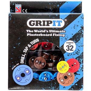 Gripit GASSORTKIT Plasterboard Fixing 32Pce Assorted Kit