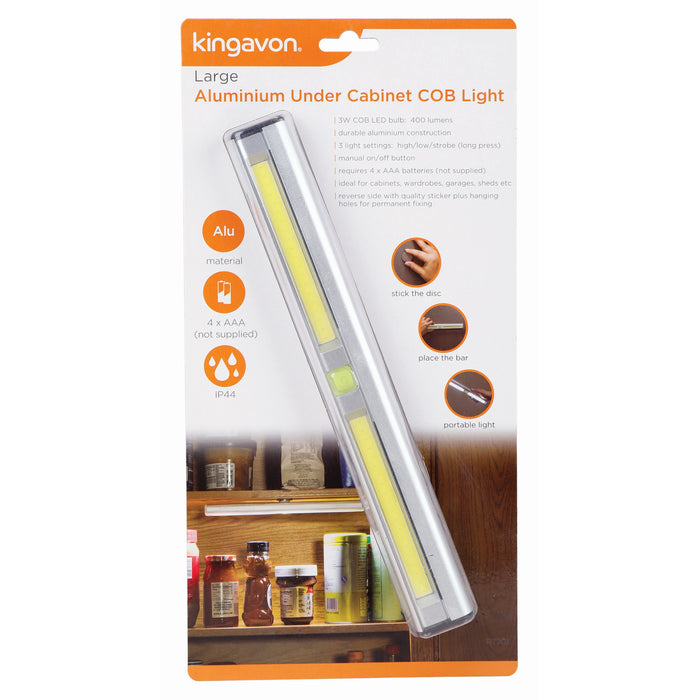 Kingavon RT201 Large Aluminium Under Cabinet 3W COB Light
