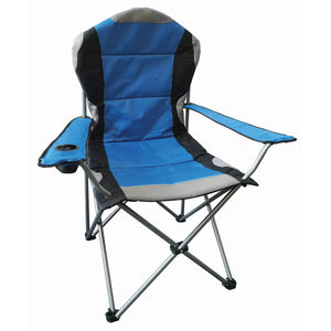 Redwood Leisure FC171 Padded High Back Chair - Blue