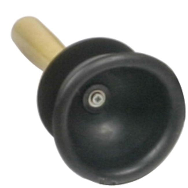 Buffalo 1018-1 Small Rubber Force Cup Plunger Wooden Handle
