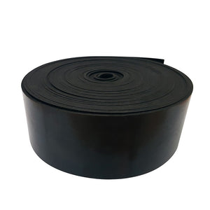 Commercial Rubber Strip 3mm x 75mm - Sold Per Metre