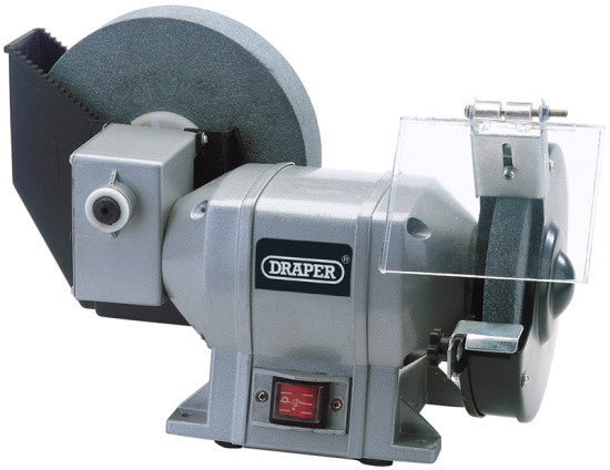 Draper 78456 230v 250w Wet and Dry Bench Grinder
