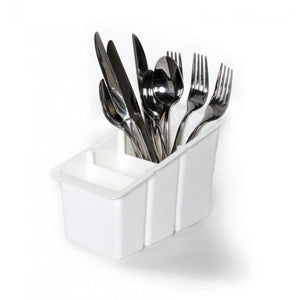 White Plastic Cutlery Box ( 2500 )