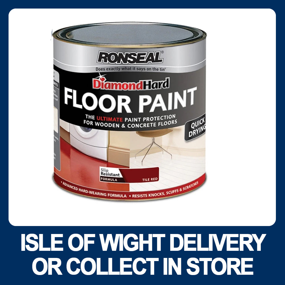 Ronseal Diamond Hard Floor Paint 2 5 Ltr W Hurst Son Iw Ltd