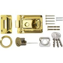 Era 133-32 60mm Traditional Brass Door Lock