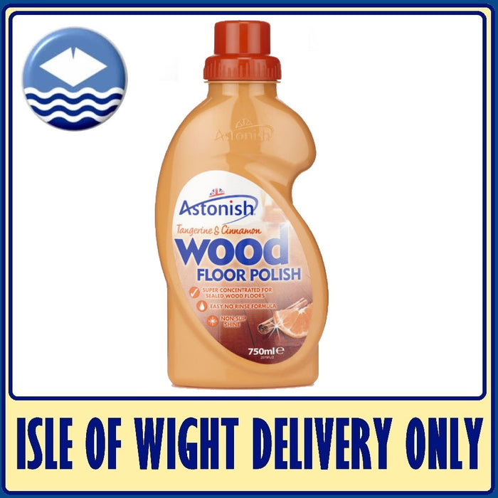Astonish C2575 Flawless Tangerine/Cinnamon Wood Floor Polish 750ML