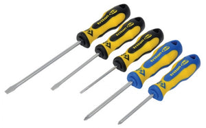 CK T4727 Screwdriver set - 5 Piece Slotted/PZD