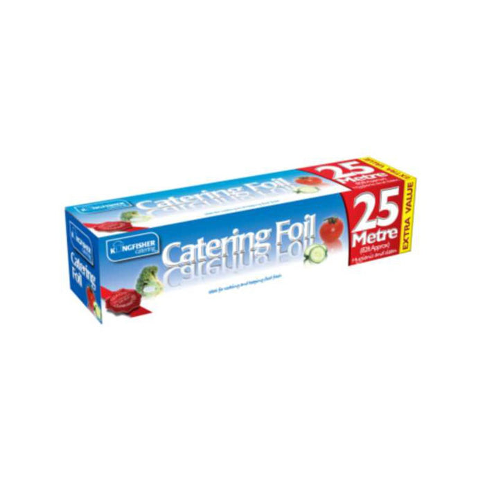 Kingfisher KCFOIL30 Catering Aluminium Kitchen Foil 25Mtrs x 30cm