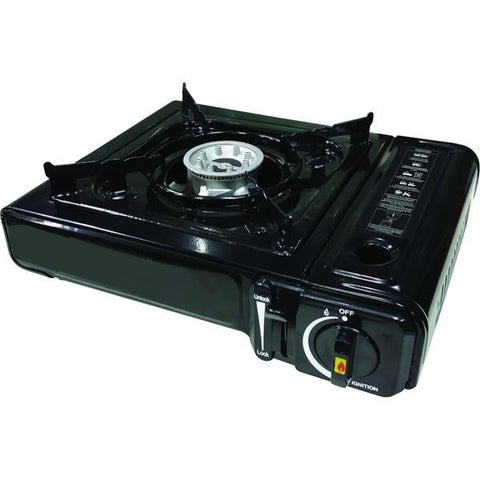 Portable Gas Camping Stove + Carry Case