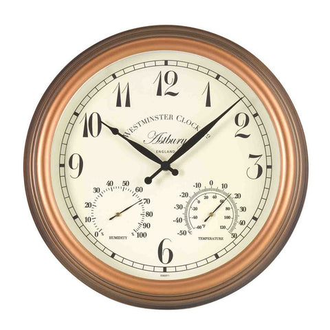 Outside In Designs 5060011 Astbury Wall Clock & Thermometer
