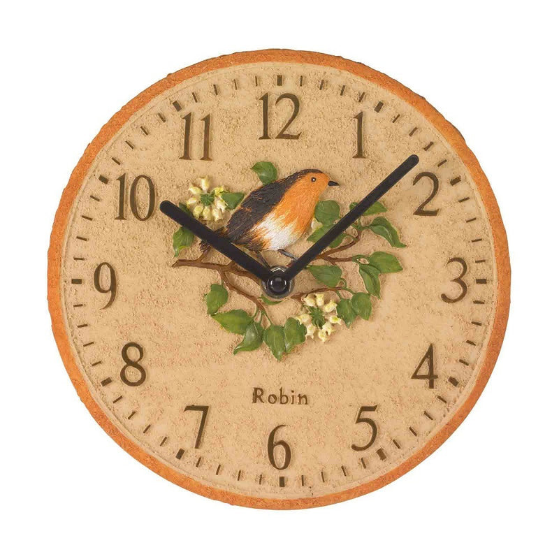 Outside In Designs 5064000 Robin Wall Clock 8""