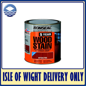 Ronseal 5 Year Woodstain 750ml - Various Colours