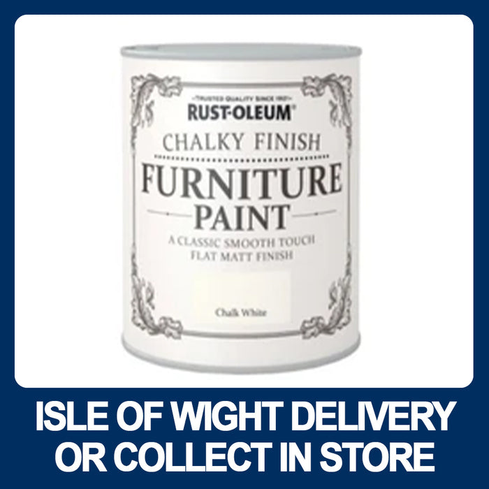 Rust-oleum Chalky Finish Furniture Paint 750ml - Various Colours