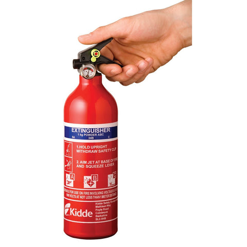 Kidde KSPS1X Multi Purpose 1.0kg ABC Fire Extinguisher