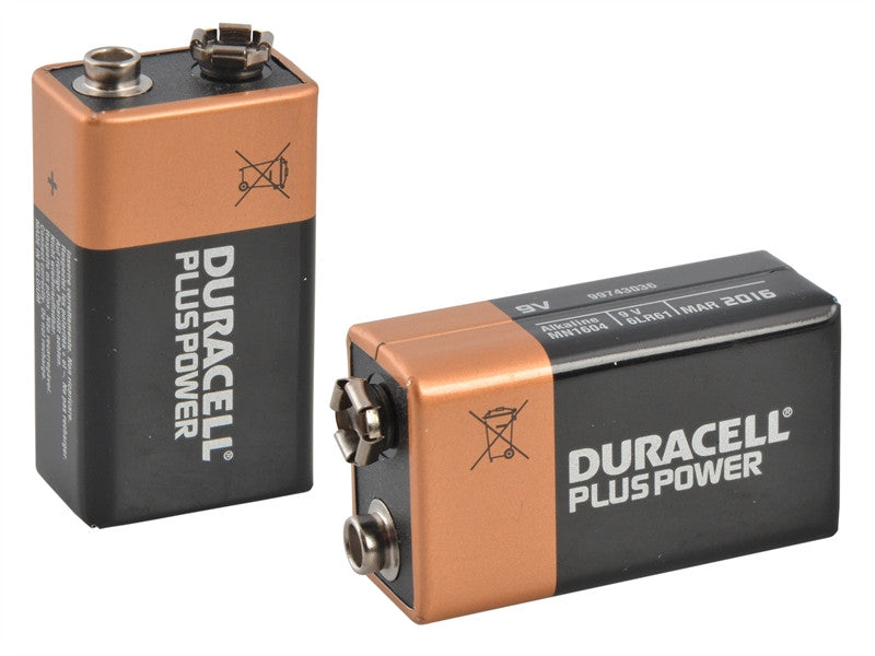 Duracell MN1604 9V Battery - Twin Pack
