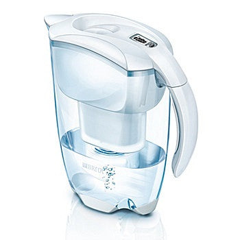 Brita 1000814 Elemaris Water Filter Jug 2.4Ltr Cool White