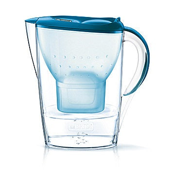 Brita 1024043 Marella Maxtra+ Water Filter Jug 2.4Ltr - Basic Blue